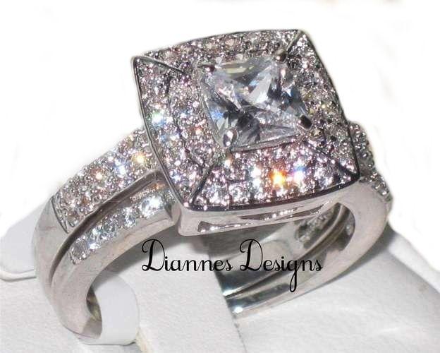 Princess Wedding Ring Sizes No Ta