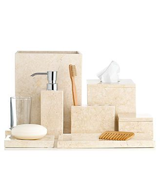Hotel Collection Marble Collection Bath Ensembles Pinterest Marbles Bathroom Accessories