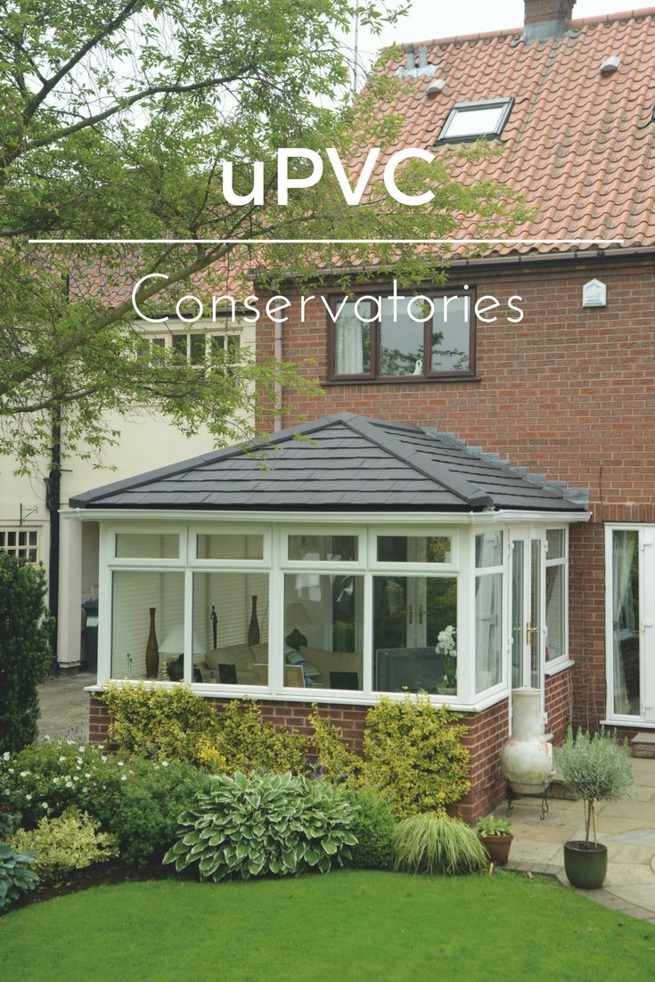 Un-plasticised Polyvinyl Chloride (uPVC) is one of the most popular conservatory materials in the UK thanks to its low cost and durability. uPVC conservatory fittings are ideal for modern homes, however older period homes tend to suit aluminium conservatories or a hardwood conservatory to maintain the overall look of the property.