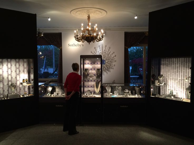 Magnificent Jewels exhibition at Sotheby's Geneva 2014 designed and built by 4D Projects