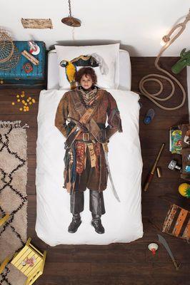 Parure de lit Pirate / 1 personne - 140 x 200 cm