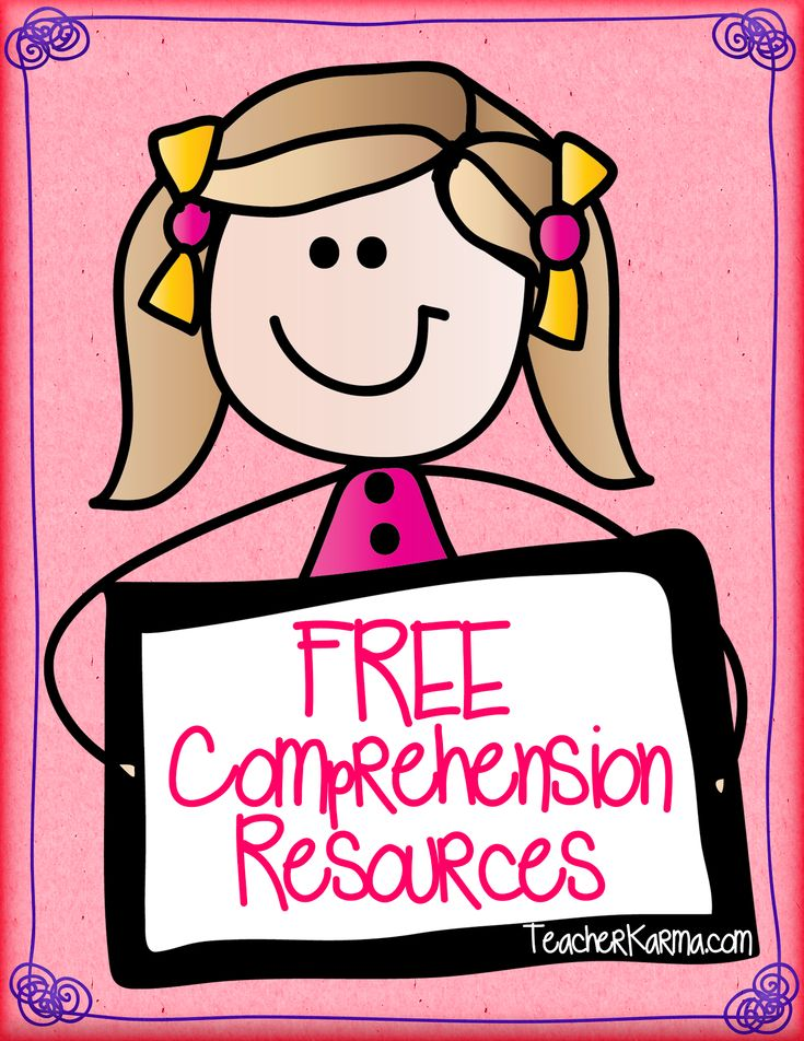 6 FREE Reading Comprehension Resources for READING SUCCESS! Repinned by SOS Inc. Resources pinterest.com/sostherapy/.