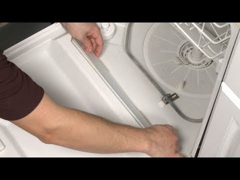 Bottom Door Wiper Gasket Replacement Part 154576501 Frigidaire Dishwasher Repair This Looks Way Easier Pretty House Things Pinterest