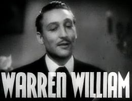 Warren William starred in many pre-code films