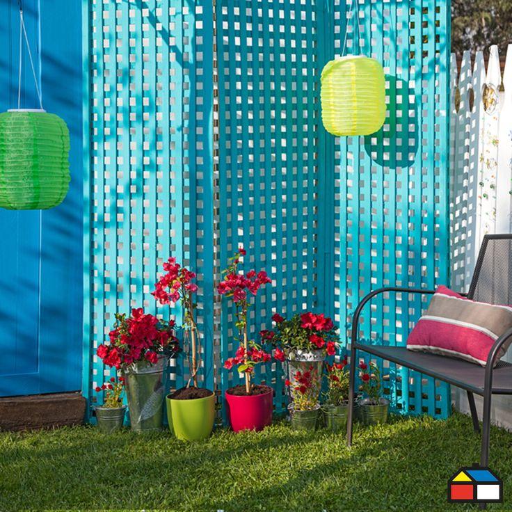 #Jardin #terraza #color