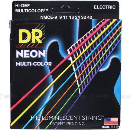 Д-Р Строки Неоновые Привет-def K3 Покрытием Средние Струны для Электрогитары 10-46