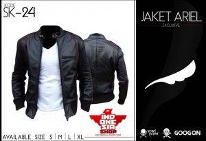 Jaket Kulit - Ariel // 0857-0700-1011 / www.Indonesia-shop.com #Jaket #Indonesia #Crowszero #ariel #kulit #pria #fashion #keren #korea #jaketkorea #anime #geographic #blazer #jual #cari #jacket #sweater #keren #uptodate #terbaru #modis #fashioneble #terbaik #terlaris #anime #kulit #jaketkulit #sintetis #indonesia #termurah #palingmurah #murah #baru #disain