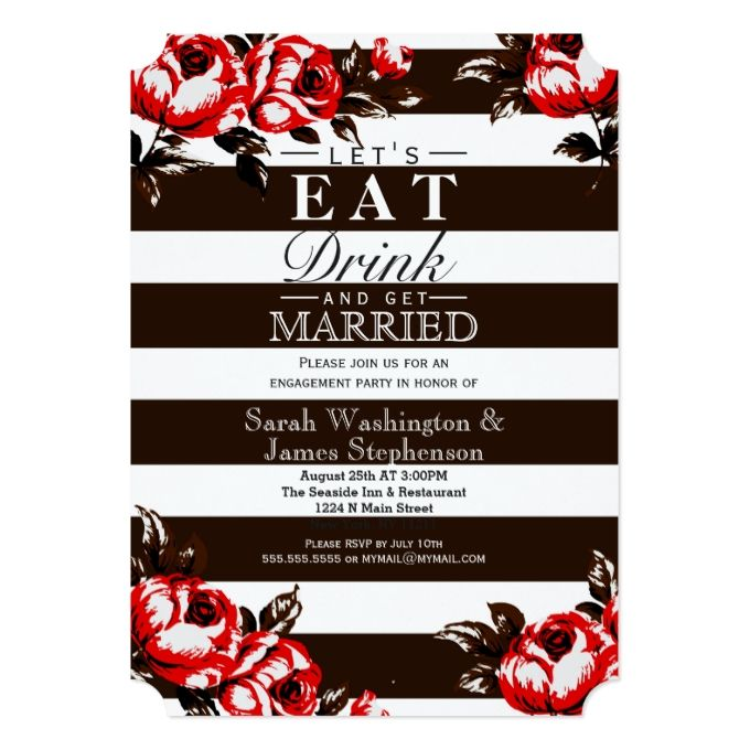 2628 best Engagement Party Invitations images – Elegant Engagement Party Invitations