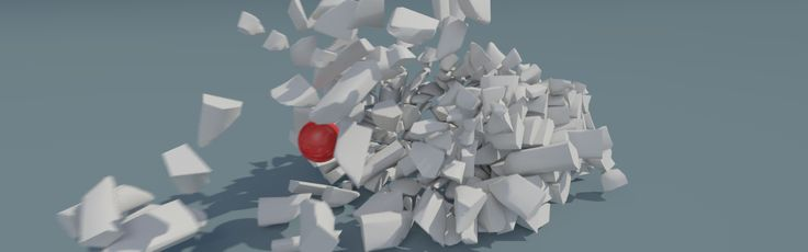 Follow along with this Blender article to learn the process for setting up a destruction simulation great for buildings, walls or glass that needs to be destroyed using the Cell Fracture Addon: http://blog.digitaltutors.com/using-cell-fracture-feature-blender-create-advanced-dynamics/