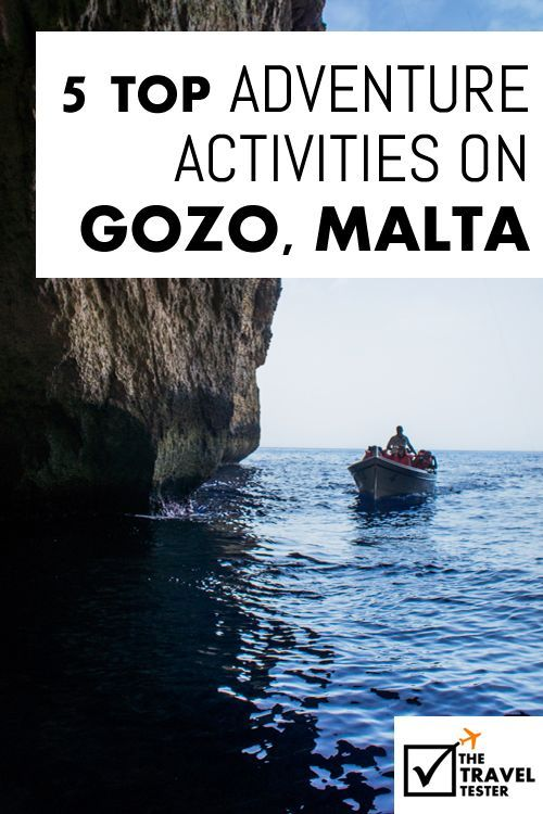 A unique holiday in Europe: Gozo Malta: 5 Top Outdoor Adventure Activities | The Travel Tester