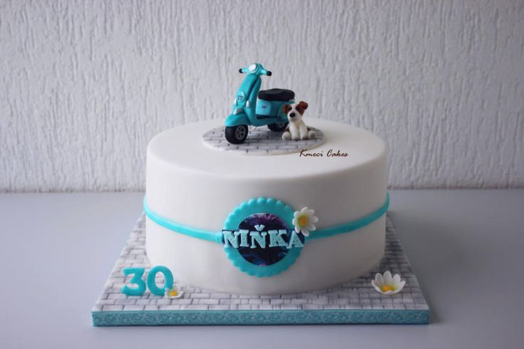 ... scooter cake on Pinterest  Motorcycle cake, Cakes and Jumping clay