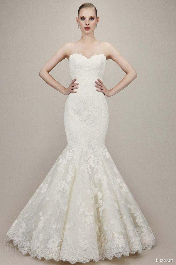 23 best Enzoani images on Pinterest | Short wedding gowns, Wedding ...