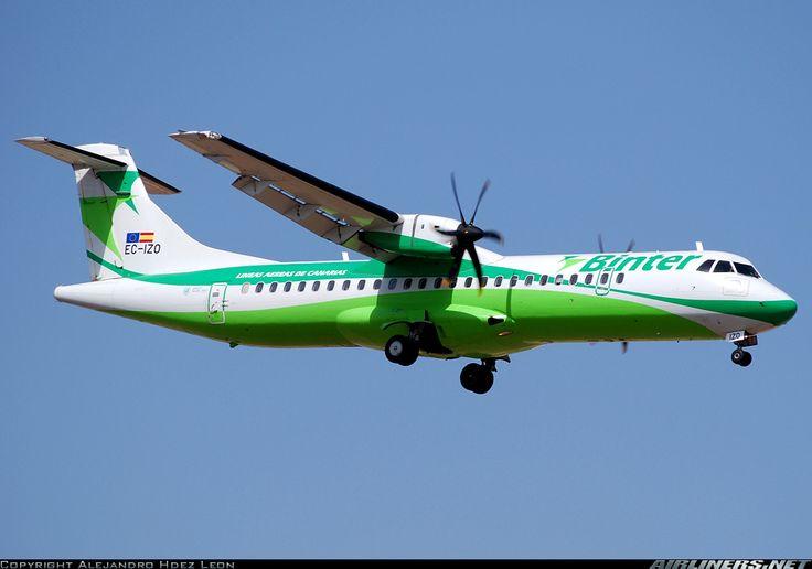 ATR ATR-72-500 (ATR-72-212A) - Binter Canarias   Aviation Photo #1396783   Airliners.net
