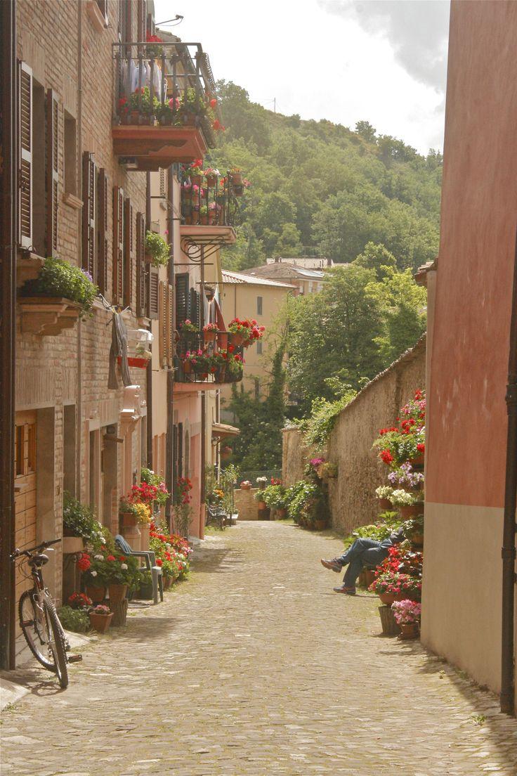Urbania, Le Marche, Italy