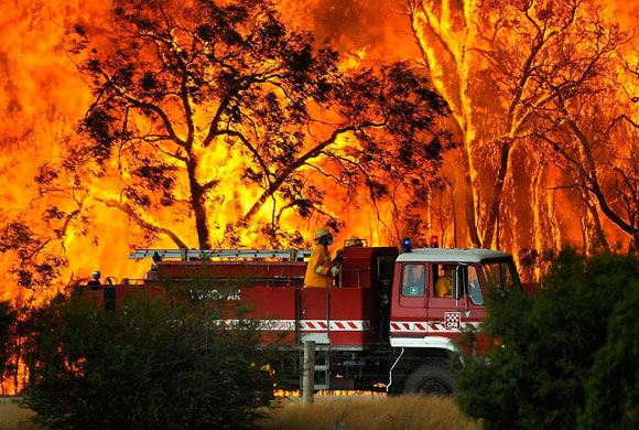 Incediu de vegetatie in Australia