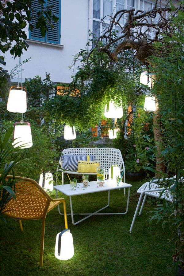 Petites lumières de jardin