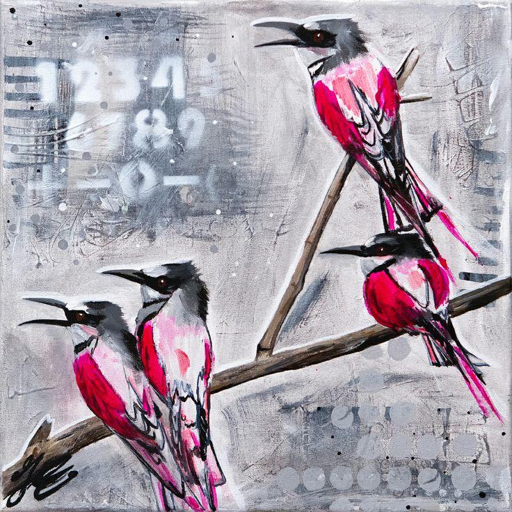 Deel 2 van drieluik. Wenskaarten van mijn schilderijen te bestellen bij http://janetedens.sendasmile.com/