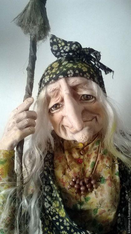 Купить или заказать Кукла 'Задумчивая ЯГА'(см. видео в блоге ) в интернет-магазине на Ярмарке Мастеров. Яга задумчивая