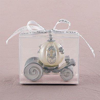 Cinderella Wedding Carriage Candle