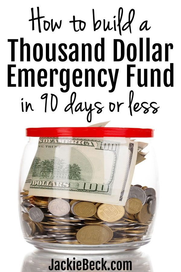 How to Build a $1000 Emergency Fund in 90 Days