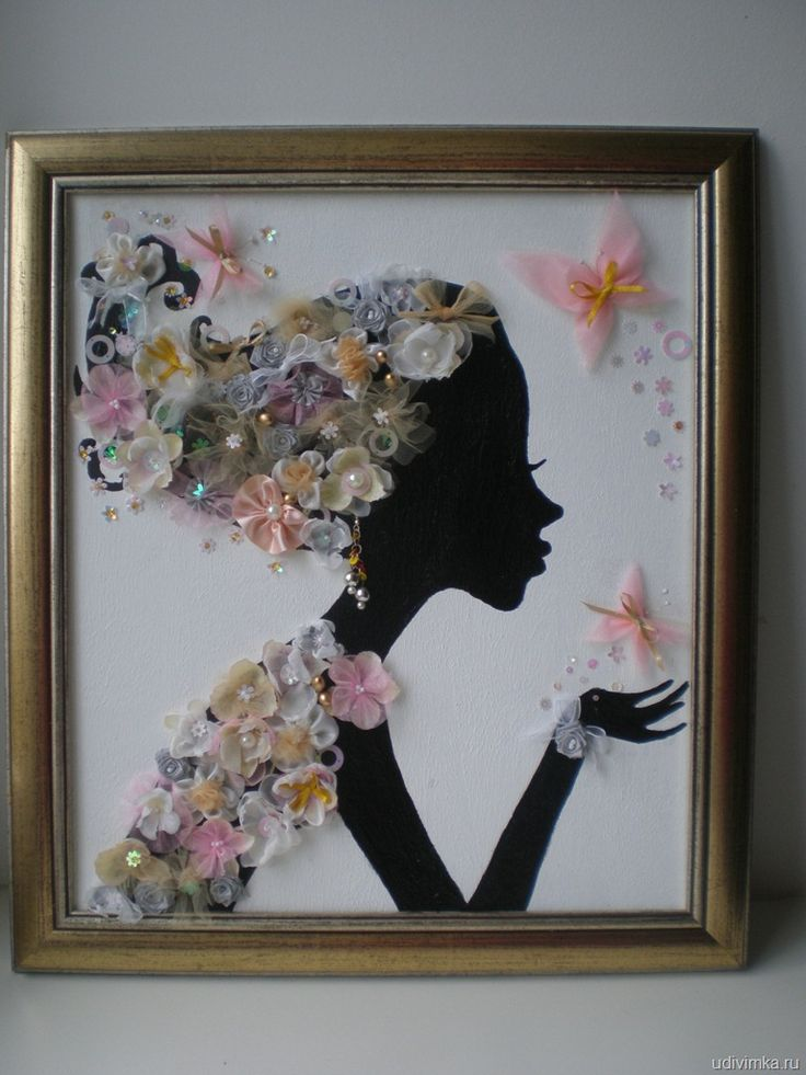 This is cute! I would prob do a kid's silhouette.