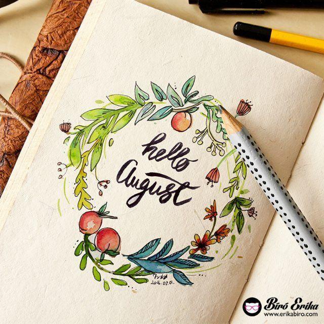 Calligraphy by Erika Bíró www.erikabiro.com