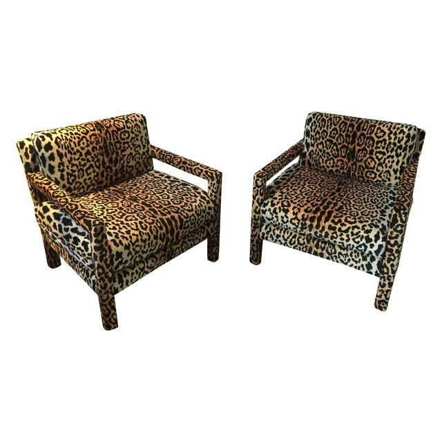 Image of Vintage Leopard Parsons Chairs   A Pair144 best Living Room Chairs images on Pinterest   Home  Lounge  . Parsons Arm Chair. Home Design Ideas