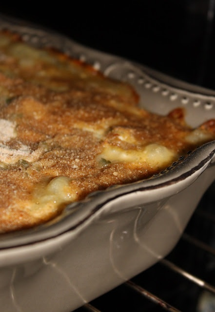 O Bolo da Tia Rosa: Bacalhau com alheira, gratinado