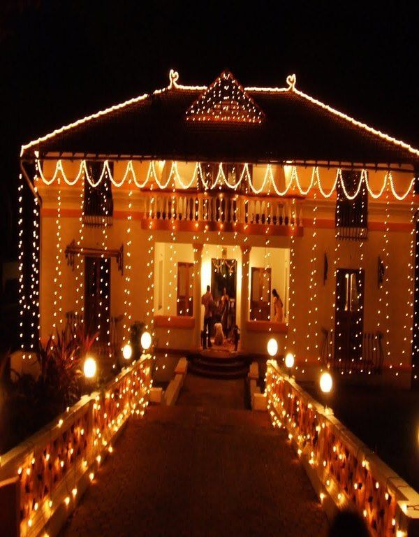 37 best diwali decoration ideas images on pinterest for Home decorations in diwali