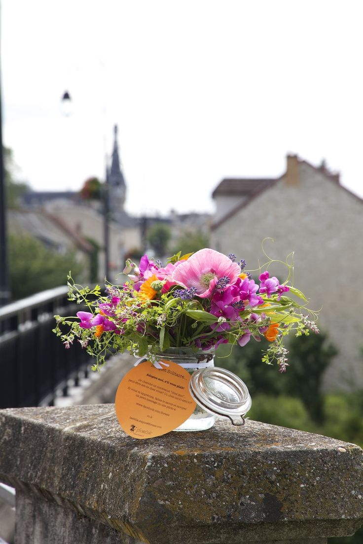 Flowers from the garden - Lonely Bouquet Day 2013 -By FlorésieFlorésie