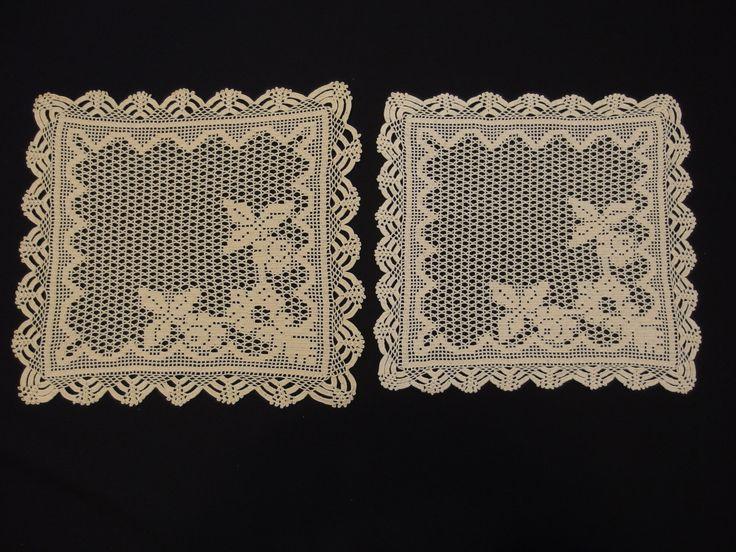 320 best images about vintagehomestories vintage home - Crochet mural vintage ...