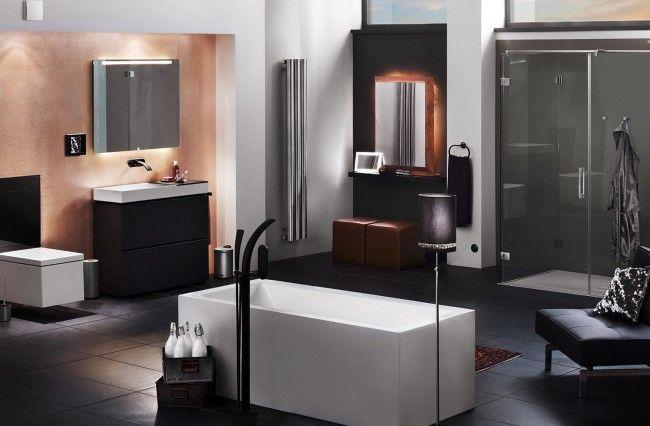 Der Trento im modernen/gradlinigen Bad #trento #spiegel #mirror #badezimmerspiegel #badmilieu #designbad #schlicht #gradlinig #zierath