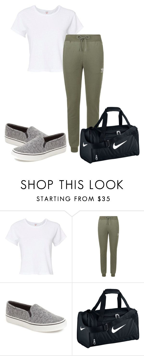 """Untitled #58"" by grraciie-386 on Polyvore featuring RE/DONE, adidas Originals, Keds and NIKE"