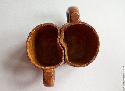 Чашки-валентинки парные, оригинальный подарок на день Святого Валентина (он же день влюбленных), если надоели плюшевые сердечки:)))