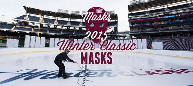 HBD MASKS: 2015 WINTER CLASSIC MASKS