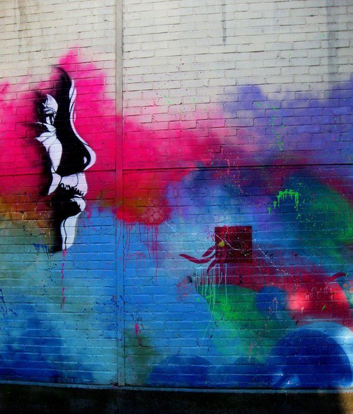 beautiful street art | Urban Street Art Beautiful Mural In Paris C215 My Modern 8168 ...