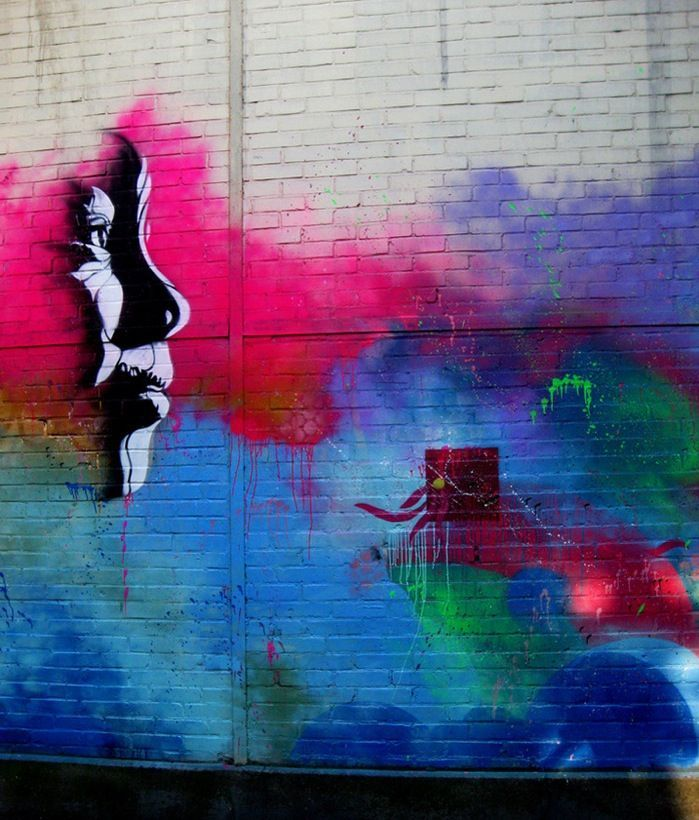 beautiful street art | Urban Street Art Beautiful Mural In Paris C215 My Modern 8168 ...