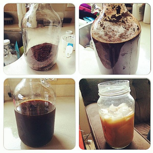 6 steps to amazing cold brew coffee.