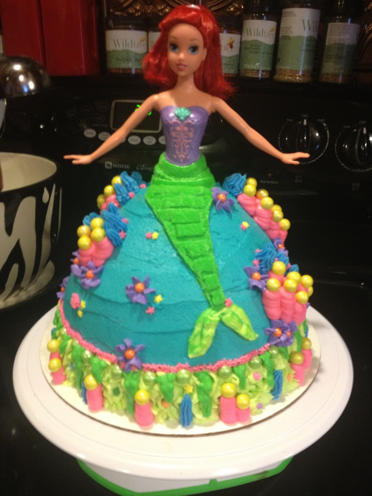 Barbie Mermaid Cake Images : Mermaid Barbie cake Barbie Cake Pinterest