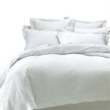 Briscoes - Abode Deluxe Waffle Duvet Cover Set