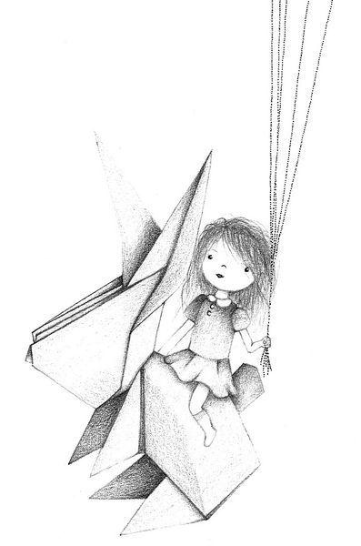 Dessin pour chambre de petite fille illustration pinterest - Dessin muurschildering chambre fille ...