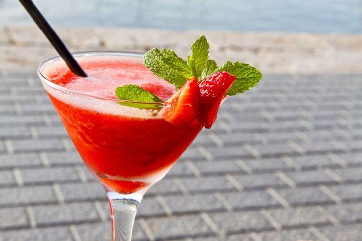 Erdbeer-Minze-Daiquiri Rezept