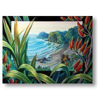 White's Beach - Flax View
