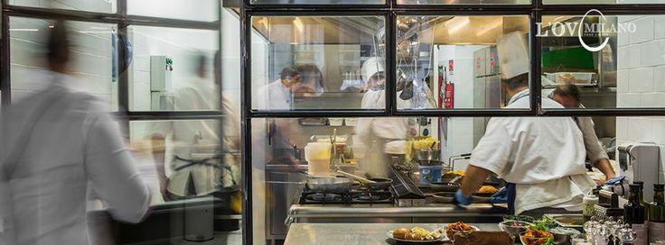 Cucina a vista @ L'Ov Milano - www.lovmilano.com