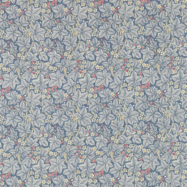 Bramble Fabric - Mineral/Slate (224462) - William Morris & Co Archive 3 Fabrics Collection
