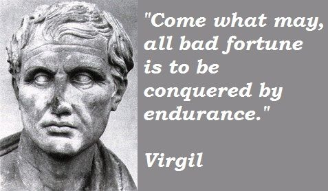 seems like that's right. Virgil Quotes