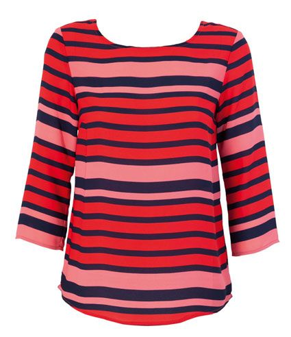 Farmers   Whistle Striped Top   $39.99