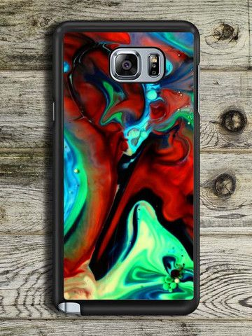 Abstract Liquid Samsung Galaxy Note 5 Case