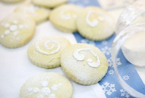 Чадейка - Молочные коржики с ванилью - Milk Cookies