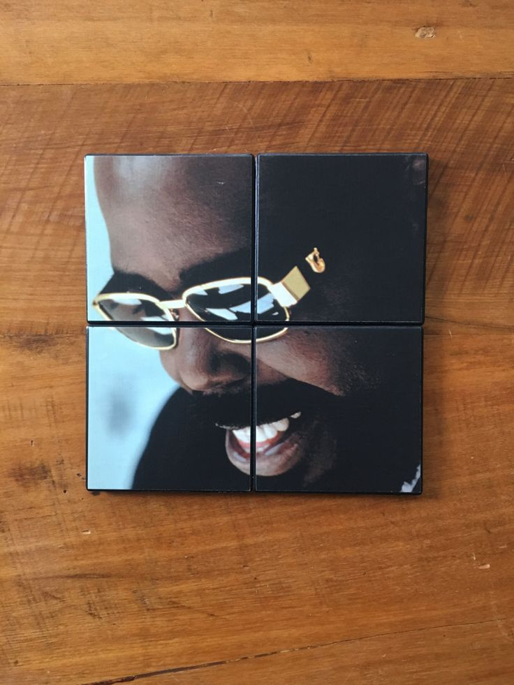 BARRY WHITE Grammy Winner R&B Soul Funk Disco Singer Songwriter Musician on Set of 4 Ceramic Heat Resistant Drink Beverage Coasters by UpcyclingIt on Etsy